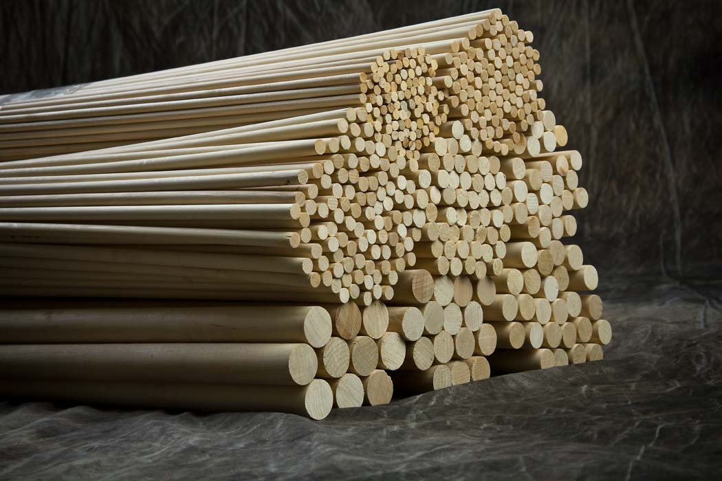 Cincinnati dowel wood products 48 long dowels 1 2 for Wooden dowels for crafts