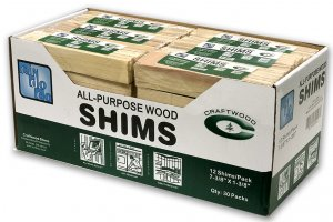 "8"" Wood Shims - 12 Count"