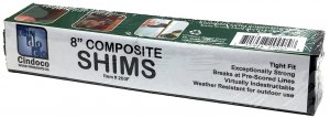 "8"" Composite Shims - 8 Count"