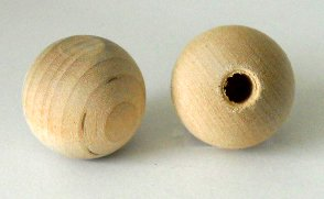 "1"" Dowel Cap with 1/4"" Hole"
