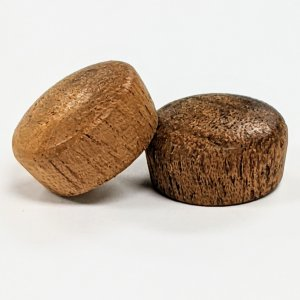 Mahogany Round Head Plugs