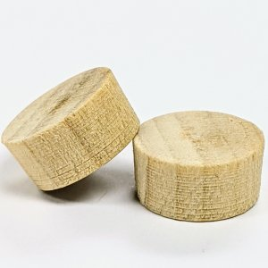 Poplar Flat Head Plugs