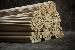 "1/4"" x 36"" Wood Dowels"