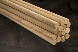 "1-1/2"" x 36"" Wood Dowels"