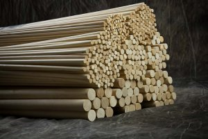"3/4"" x 36"" Wood Dowels"